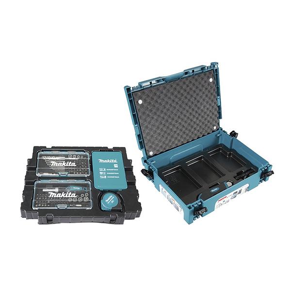 116db-os fúró-csavarbehajtó készlet makpac kofferben (makita b-49884)