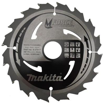 körfűrészlap mforce 180/30mm z16 (makita b-07939)