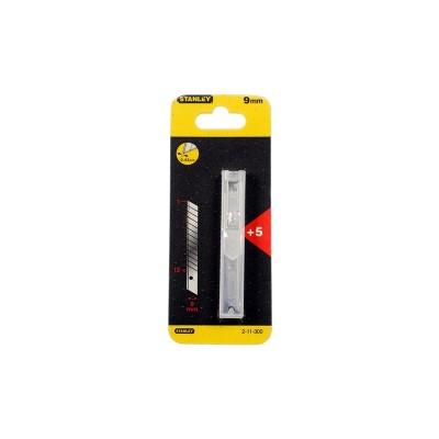stanley tördelhető penge 9mm műanyag tartóban 5db (2-11-300)