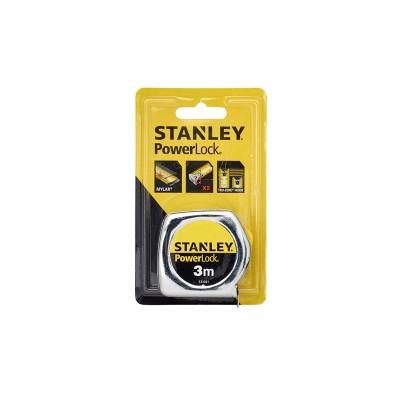 stanley powerlock mérőszalag 3m×19mm (0-33-041)