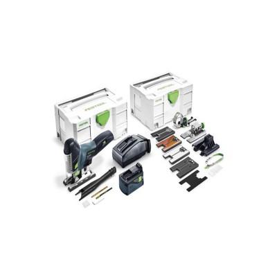 festool psc 420 li 5,2 ebi-set carvex  akkus szúrófűrész 575743 (1db 18v 5,2ah akku+töltő+ systainer)