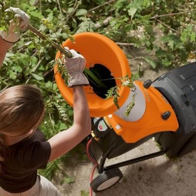 stihl ghe 250 - nagy teljesítményű, elektromos kerti aprítógép szabadalmazott vágástechnikával