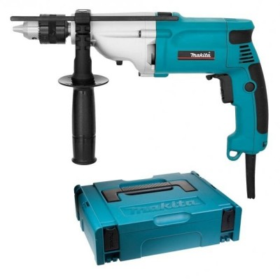 makita hp2050hj ütvefúró makpac kofferrel