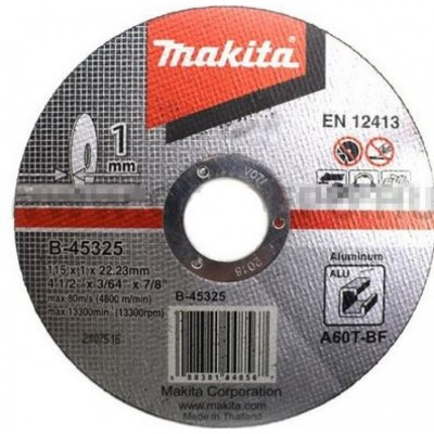 vágókorong alu 115x1mm (makita b-45325)