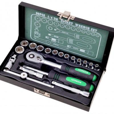 hikoki dugókulcs készlet 25 db-os (402944)