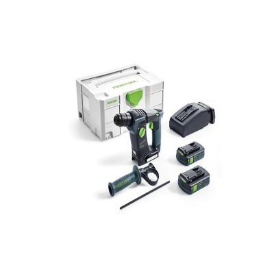 festool bhc 18 li 3,1 i-compact akkus fúrókalapács 575700 (2db 18v 3,1ah akku+töltő+systainer)