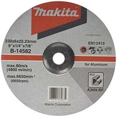 csiszolótárcsa alu 230x6mm (makita b-14582)