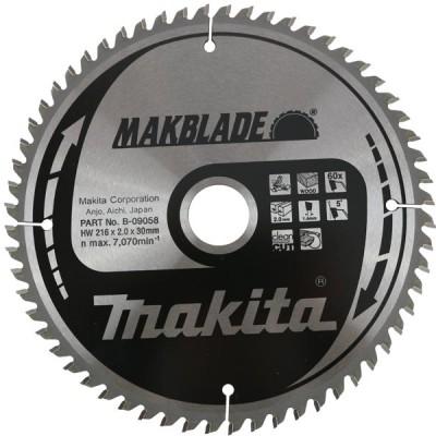 körfűrészlap makblade fához 190/20mm z24 (makita b-08894)