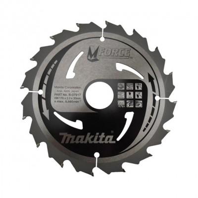körfűrészlap mforce 165/20mm z16 (makita b-07901)