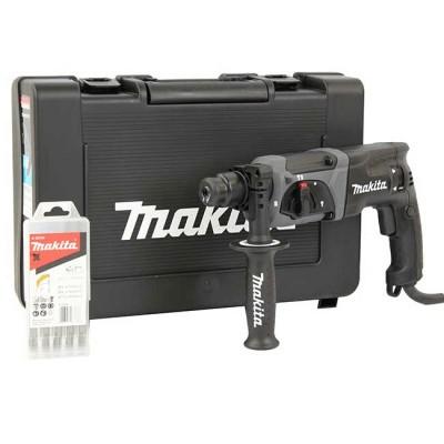 makita hr2470bx40 fúró-vésőkalapács sds-plus fekete , fúrókészlettel
